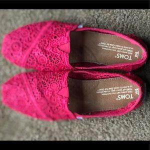 Tom's slip shoes